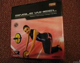 Как делать упражнения с колесом фото