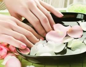 Как делать ванночки для натуральных ногтей фото
