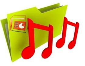 Как добавить музыку в презентацию фото