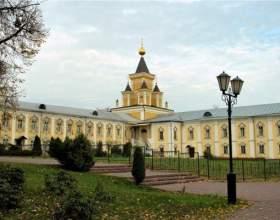 Как добраться в николо-угрешский монастырь фото