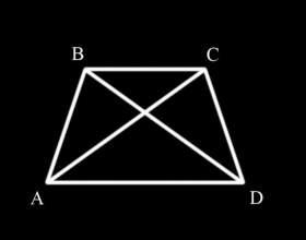 Как доказать, что диагонали в трапеции равны фото