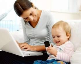 Работа на дому для молодой мамы фото