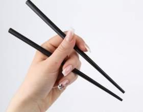 Как есть японскими палочками для еды фото