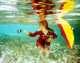 Как фотоаппарат приспособить для подводной съемки фото