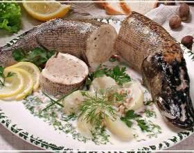 Как готовить фаршированную рыбу фото