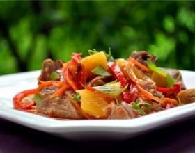Как готовить мясо с овощами фото
