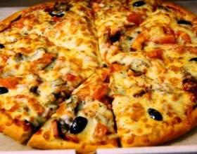 Как готовить пиццу с курицей и грибами фото