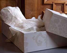 Как хранить свадебное платье фото