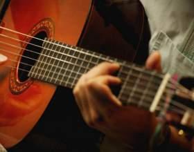 Как играть гамму на гитаре фото