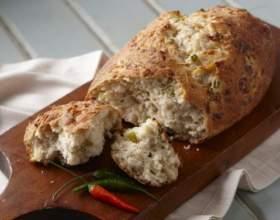 Как испечь хлеб с болгарским перцем фото