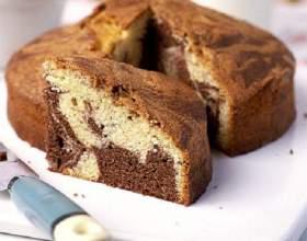 """Как испечь кекс """"мраморный"""" фото"""