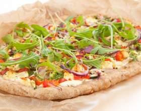 Как испечь пиццу с овощами и индейкой фото