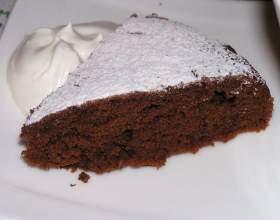 Как испечь пирог с какао фото