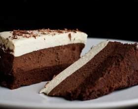 """Как испечь торт """"три шоколада"""" фото"""