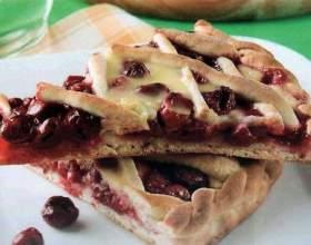 Как испечь вишневый пирог фото