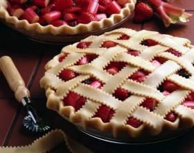 Как испечь вкусный пирог с брусникой фото