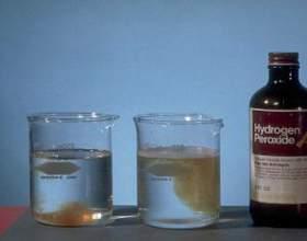 Как использовать перекись водорода фото
