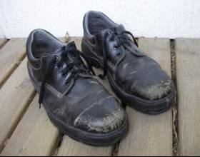 Как избавиться от разводов на обуви фото