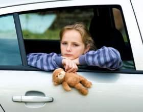 Как избежать укачивания у ребенка фото