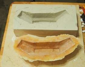 Как изготовить форму для литья гипса фото