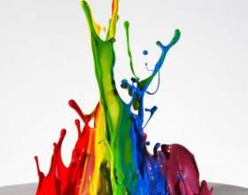 Как изменить цвет краски фото