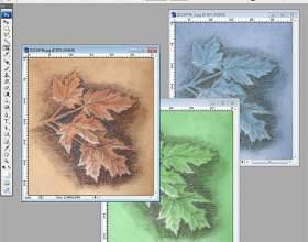 Как изменить цвет рисунка фото