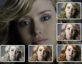 Как изменить цвет волос в photoshop фото