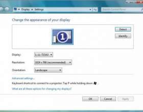 Как изменить разрешение экрана на ноутбуке фото