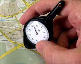 Как измерить расстояние от города до города фото