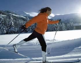 Как кататься на беговых лыжах фото