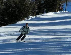 Как кататься на горных лыжах фото