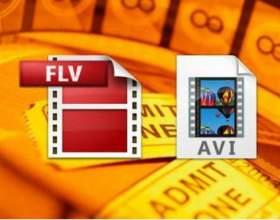 Как конвертировать из flv в avi фото