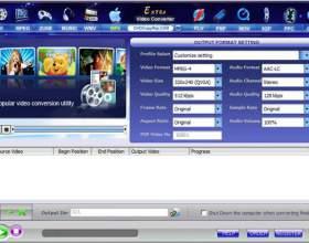 Как конвертировать видео файлы фото