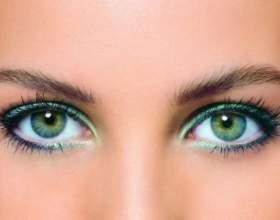 Как красить глаза зелёного цвета фото