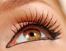 Как красить глаза жидкой подводкой фото
