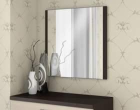 Как крепить зеркало на гипсокартон фото