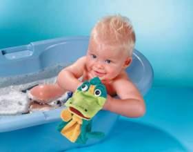 Как купать ребенка до года фото