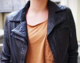 Как купить короткую кожаную куртку фото