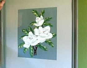 Как легко повесить картину на стену фото