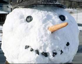Как лепить из снега фото