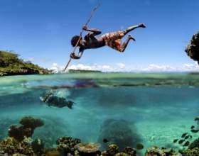 Как ловить рыбу без удочки фото