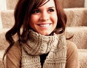 Как модно носить шарф фото