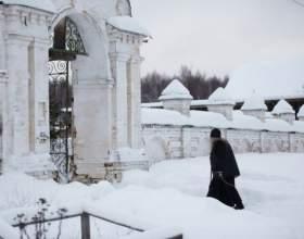 Как можно пожить при монастыре фото