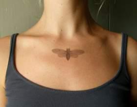 Как можно сделать временную татуировку фото