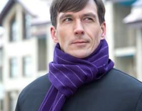 Как мужчине красиво завязать шарф фото