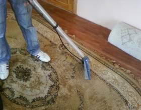 Как мыть ковры моющим пылесосом фото