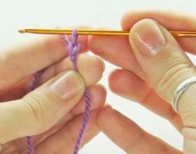 Как набрать петли, чтобы вязать крючком фото