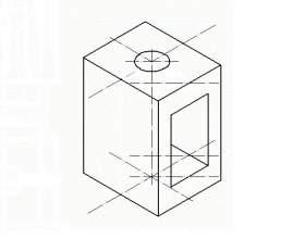 Как начертить изометрическую проекцию фото