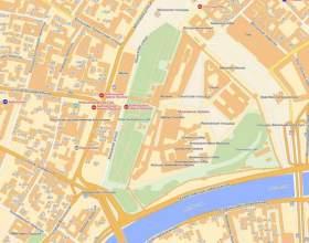 Как найти карту москвы фото