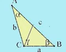 Как найти медиану треугольника фото
